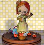 Spring Sprite - Basket Full of Love by tiggersprings