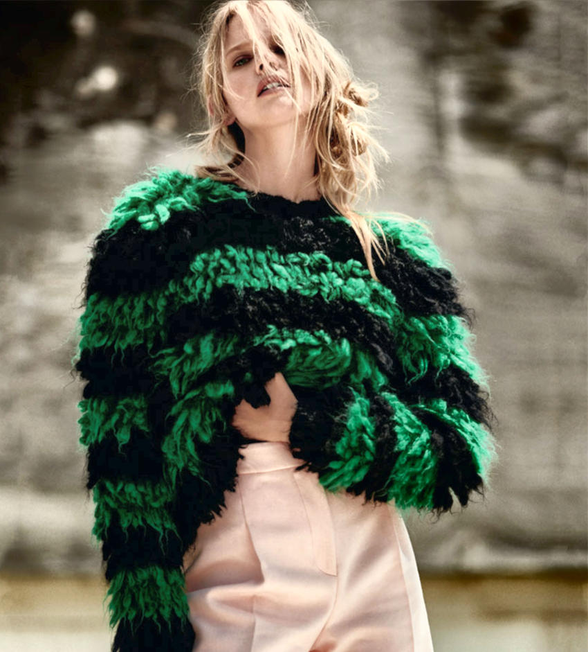 Marloes' Green Sweater by pcurto