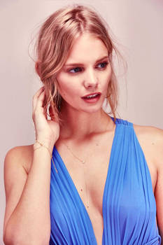 Marloes Blue Dress by pcurto