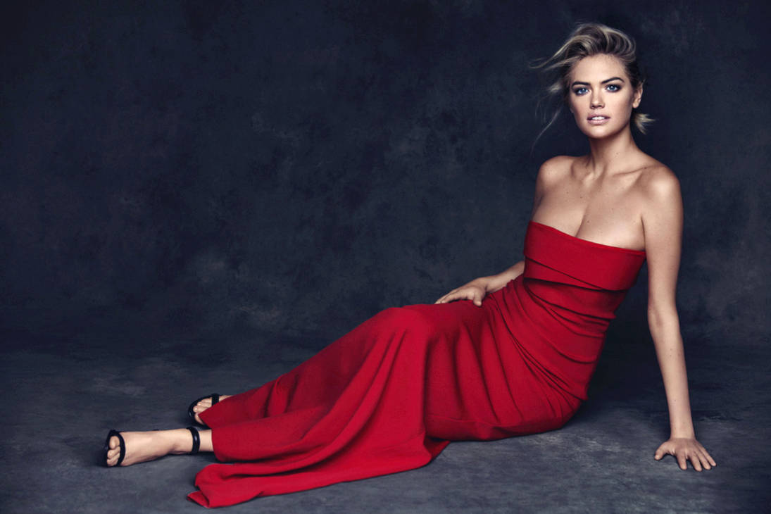 Kate Has a Red Dress On