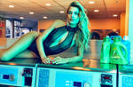 Bregje Uses All the Machines by pcurto