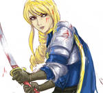 Agrias Oaks drawing