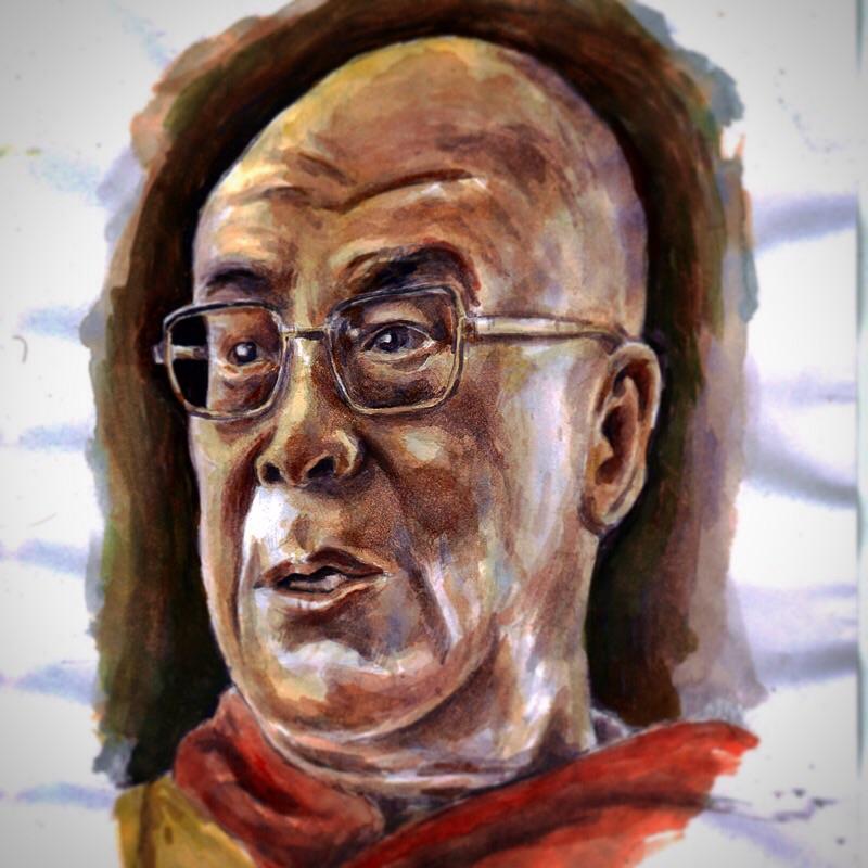 Dalai Lama by keiross