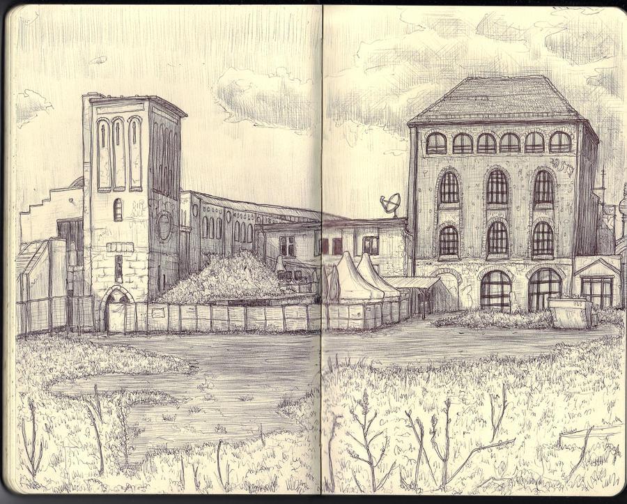 Sketchbook - Friedrichshain by keiross