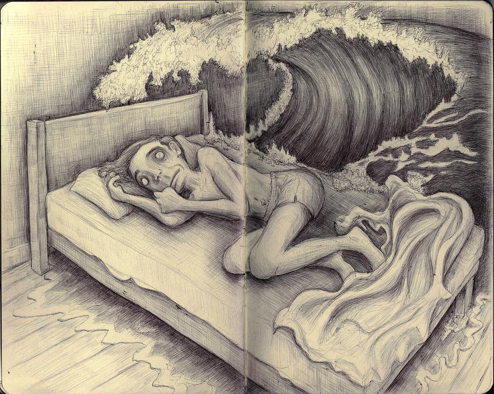 Sketchbook - 4am feeling by keiross
