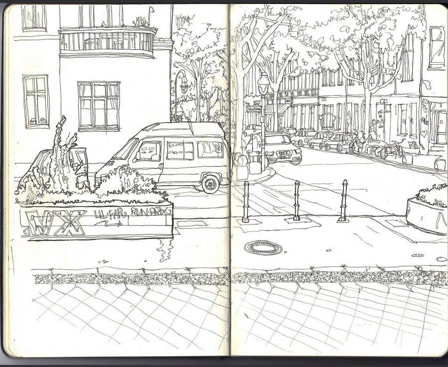 Sketchbook - my kiez by keiross