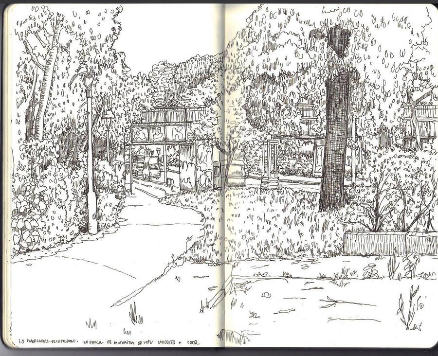 Sketchbook - my hood by keiross