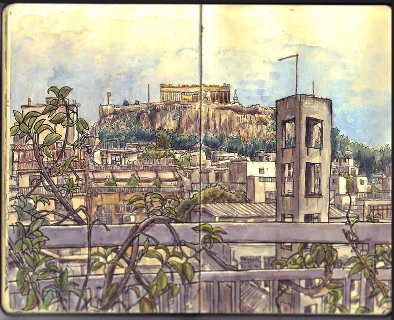 Sketchbook - Acropolis by keiross