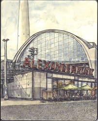Sketchbook - Alexanderplatz Berlin by keiross