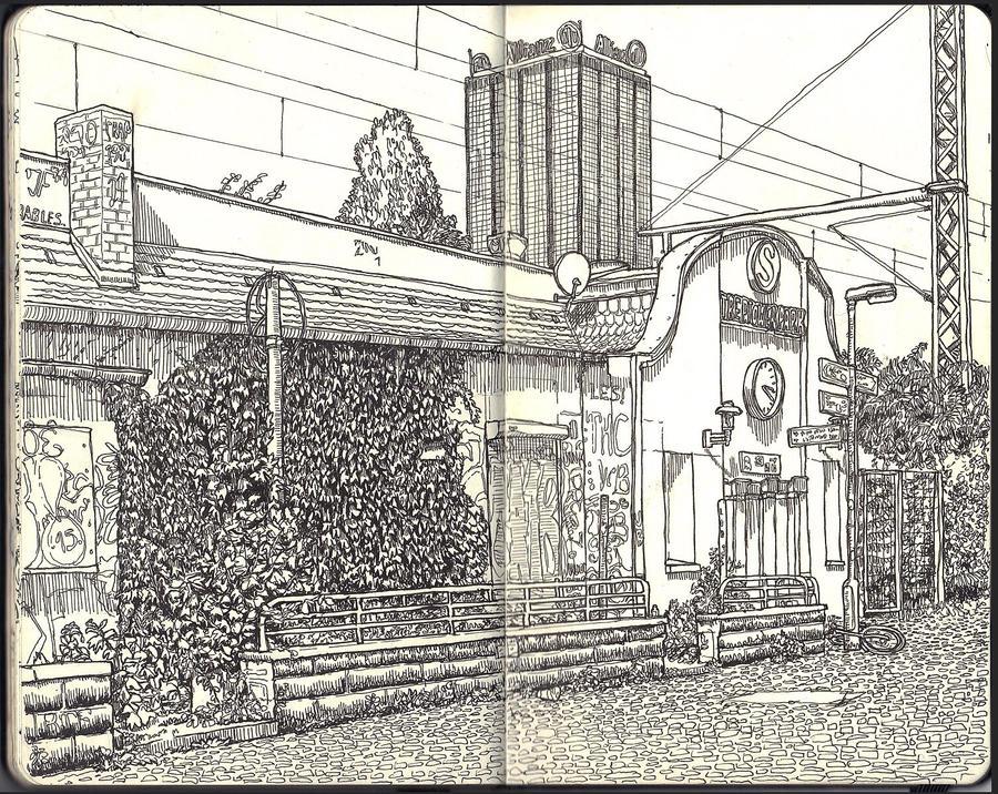 Sketchbook - Treptower Park by keiross