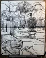 sketchbook - raw in berlin by keiross