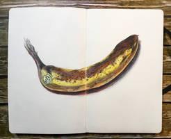 sketchbook - banana by keiross