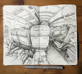 sketchbook - berlin to london for christmas