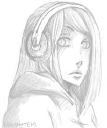 headphones by lonahtem