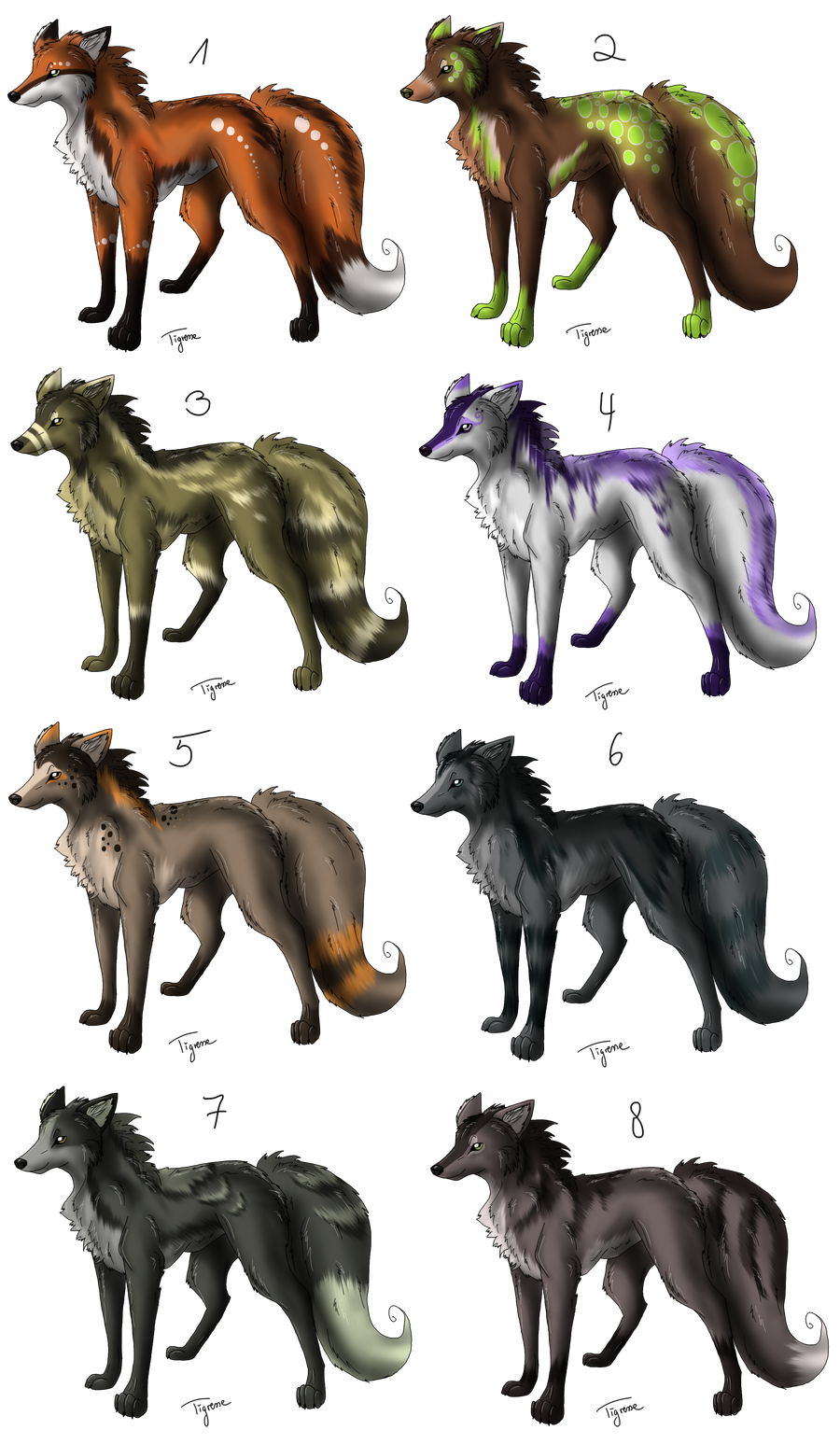 Wolf point adoptables 2 6 available by anouki morgenstern for Jenni wolf