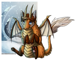 Le Winter Furkay by anouki-morgenstern