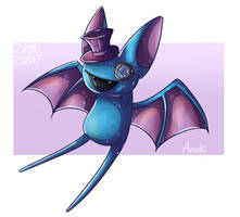 Zombey the Zubat by anouki-morgenstern