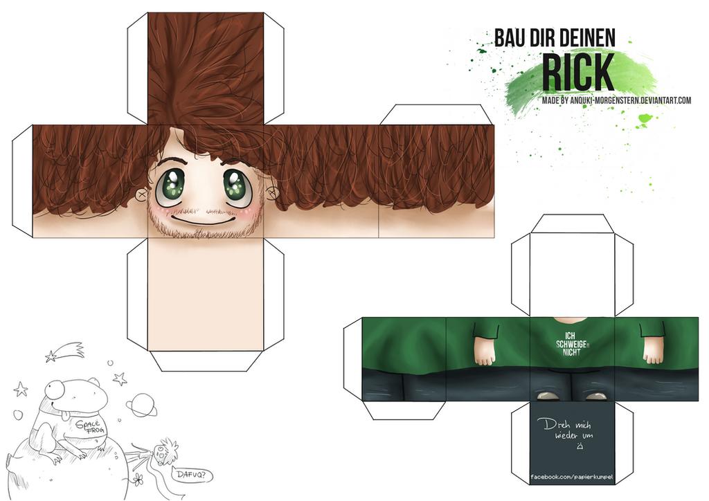 craft your rick by anouki morgenstern on deviantart. Black Bedroom Furniture Sets. Home Design Ideas