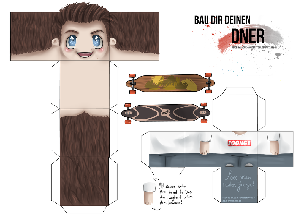 Dner skin  Craft your Dner! by anouki-morgenstern on DeviantArt
