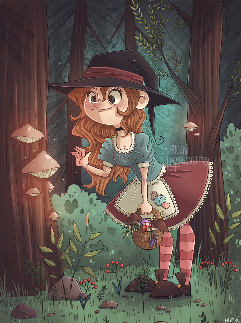Forestwitch by anouki-morgenstern