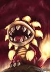 Fiery Dino Piranha - SMG