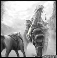 Phaedra-Shadow of the Colossus by GaryStorkamp