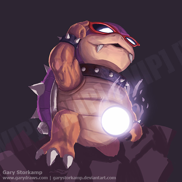 Roy Koopa - part 1 by GaryStorkamp