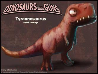 Tyrannosaurus Concept by GaryStorkamp