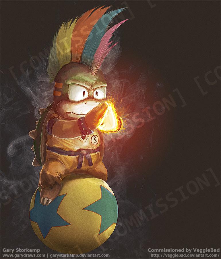 Lemmy Koopa - Commission by GaryStorkamp