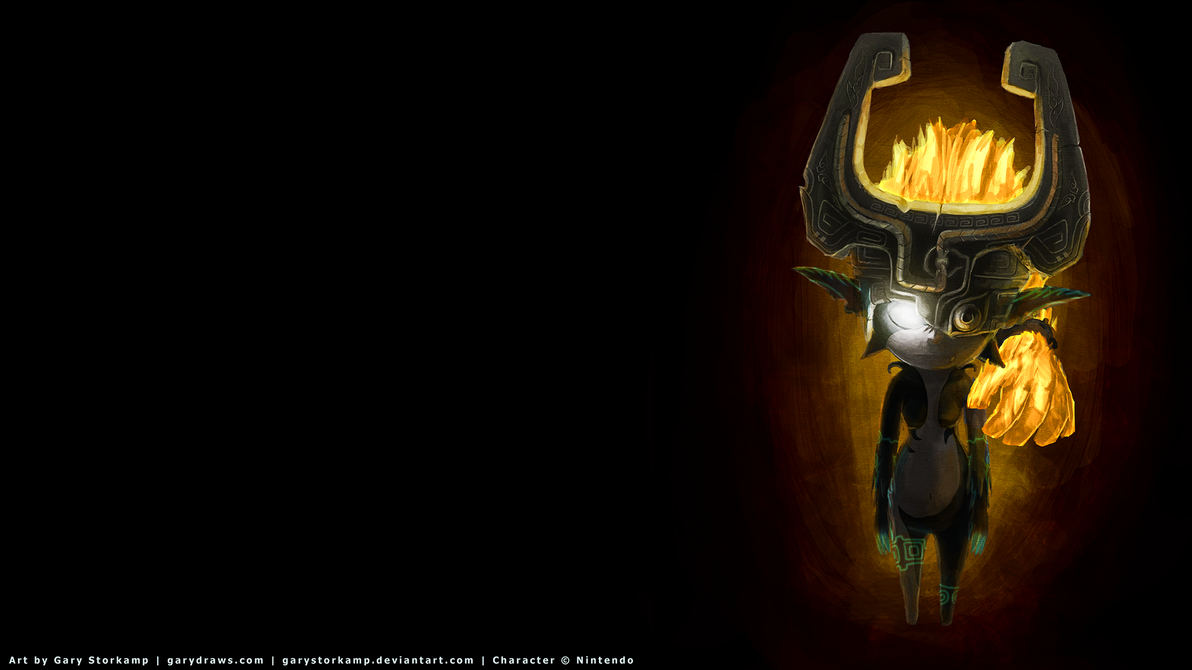 Midna - Wallpaper version by GaryStorkamp