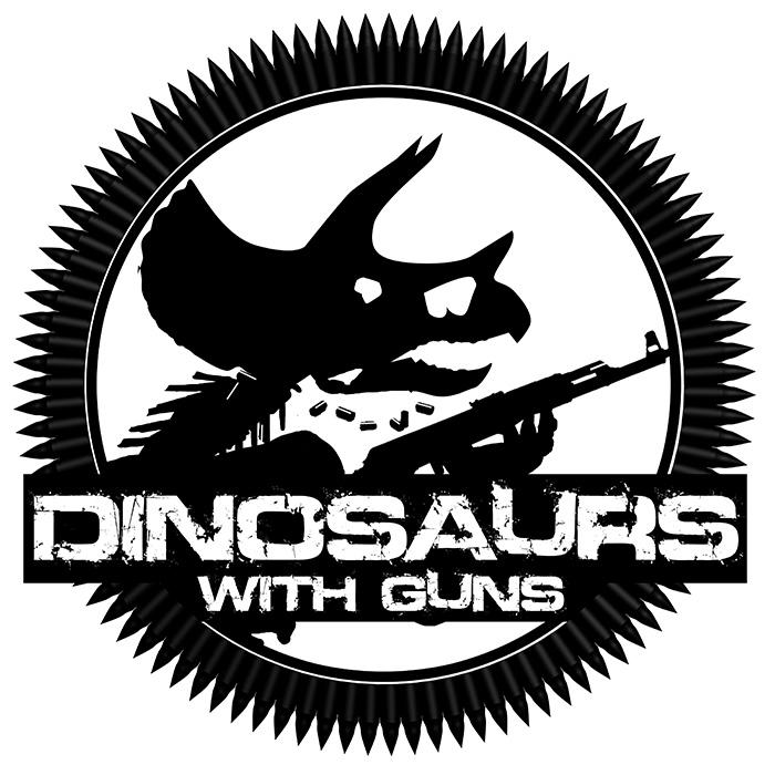 Dinosaurs with Guns - Logo by GaryStorkamp