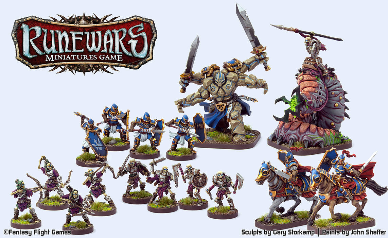 RuneWars Miniatures