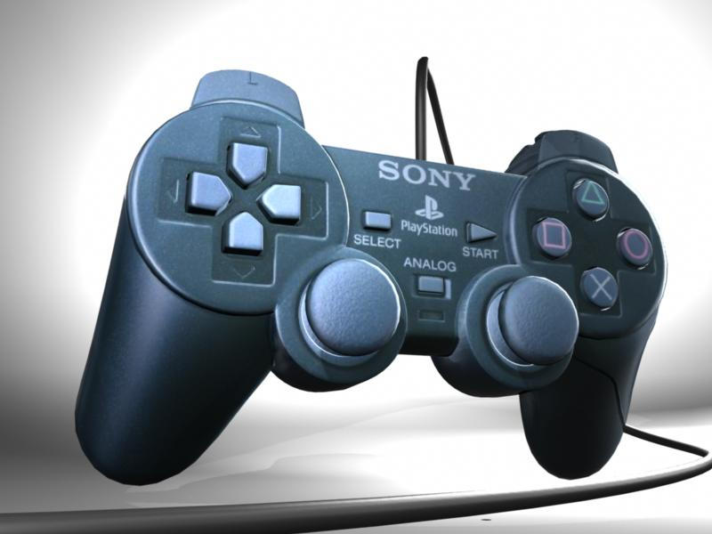 PS2 Controller by GaryStorkamp