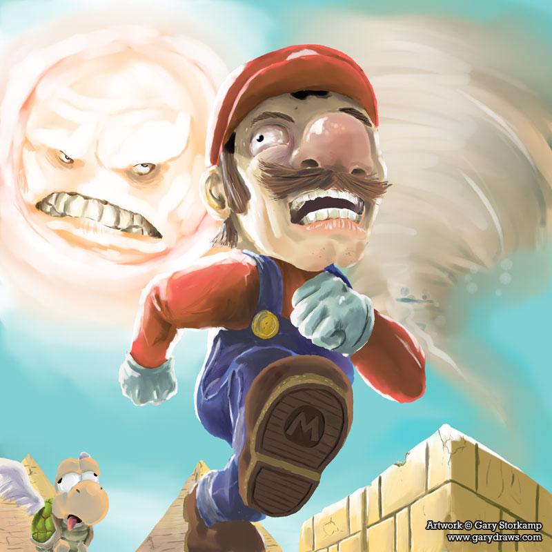Марио картинки приколы, день святого валентина