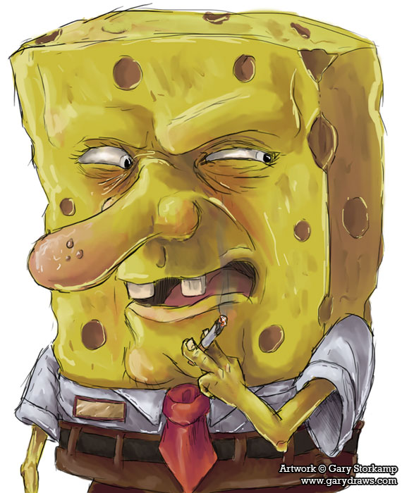 Spongebob Squarepants by GaryStorkamp