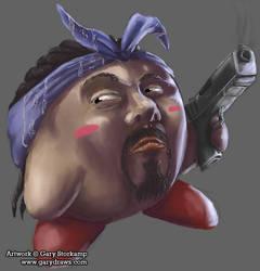 Snoop Kirby Kirb by GaryStorkamp