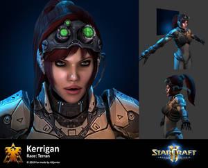 Kerrigan Portrait Starcraft Remastered