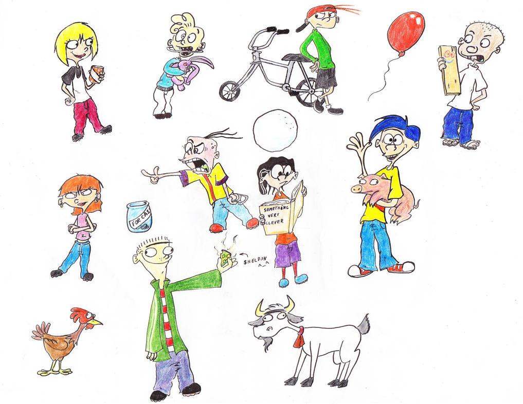 Ed, Edd n Eddy favourites by DCZShostkey87259 on DeviantArt