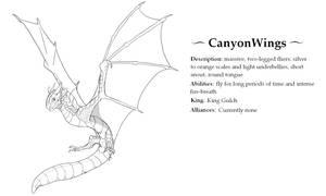 CanyonWings Page (fantribe)