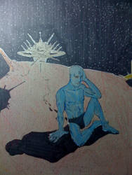 The finished Dr. Manhattan