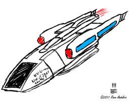 Shuttle Type R5 sketch