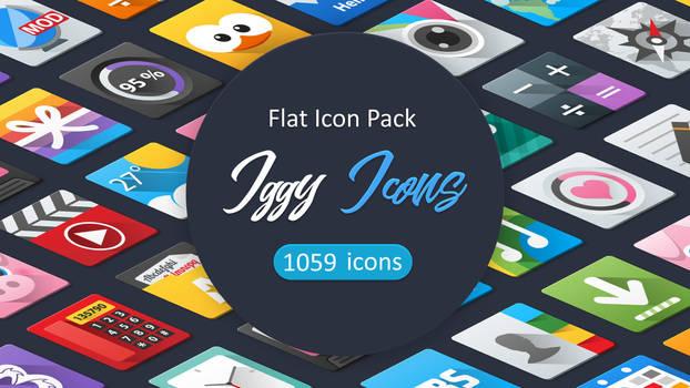 Iggy Icon Pack