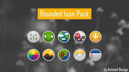 Rounded Icons for Android by tari7