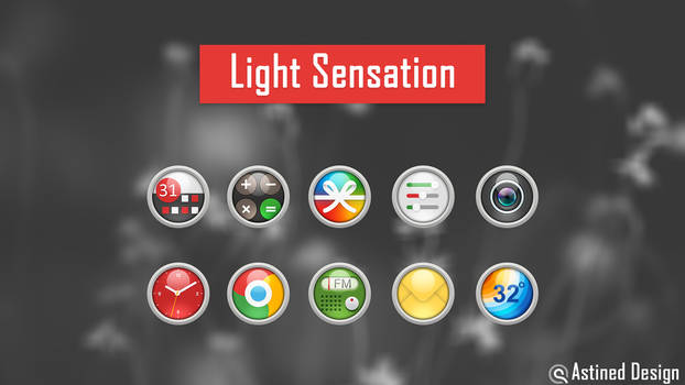 Light Sensation Android Icon Pack