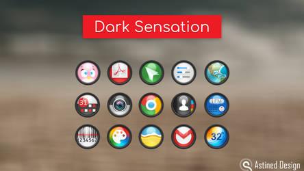 Dark Sensation Android Icon Pack-Theme by tari7