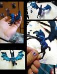 Dragon horse foal color by Megido23