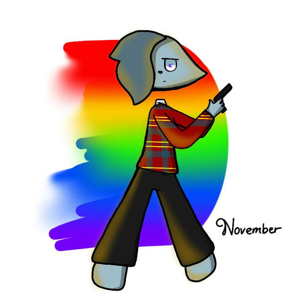 IBS Paint Drawing Of November By DJKALmalisa On DeviantArt - Ibs paint
