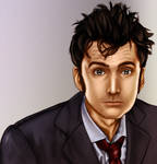 10th doctor painting