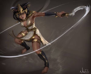 Egyptian warrior- Commission