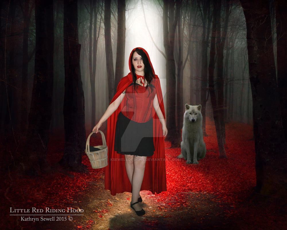 Little Red Riding Hood by KSewellDesigns